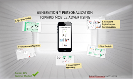 GENERATION Y PERSONALIZATIONS TOWARD MOBILE ADVERTISING