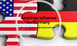American influences on Germany