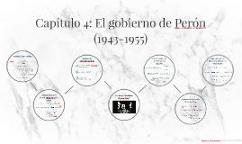 Capítulo 4: El gobierno de Perón (1943-1955)