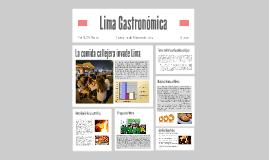 La comida callejera invade Lima