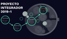 PROYECTO INTEGRADOR 2018-1