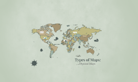 Types of Maps: