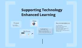 Supporting Technology Enhanced Learning
