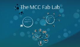 Copy of MCC Fab Lab