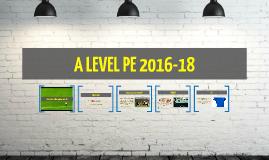 AS PE 2013-14
