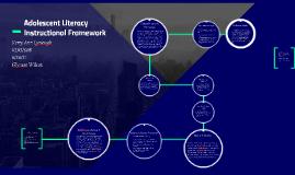 Adolescent Literacy Instructional Framework
