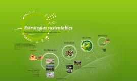Estrategias sustentables