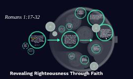 Romans: Righteousness Through Faith