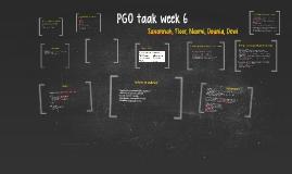 PGO taak week 6