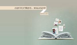 CONVENTIONS - MAGAZINE