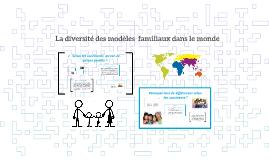 Copy of La diversité des modèles  familiaux dans le monde