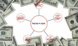 Metode de plată