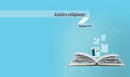 Linjära religioner 2018