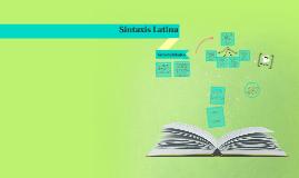 Generalidades de la Sintaxis