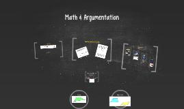 Math & Argumentation