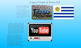 Uruguay Campeón de Ámerica