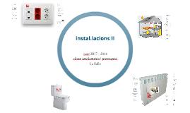 10.- instal.lacions II