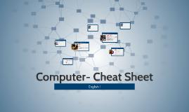 Computer- Cheat Sheet