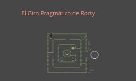 El Giro Pragmático de Rorty