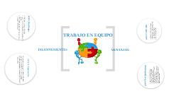 TRABAJO EN EQUIPO: VENTAJAS E INCONVENIENTES