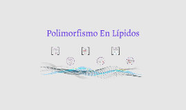 Copy of Polimorfismo en lípidos
