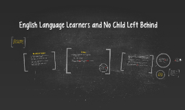 English Language Learners and No Child Left Behind