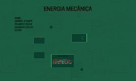 ENERGIA MÊCANICA