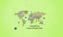 Campos de concentración Nazi