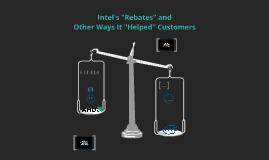 Intel's rebate-group ethics