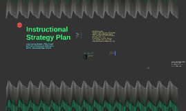 Instructional Strategy Plan