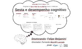 Sesta e desempenho cognitivo