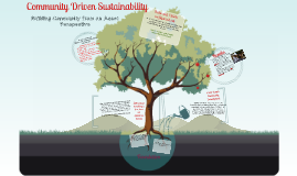 Copy of Copy of Community Driven Sustainability