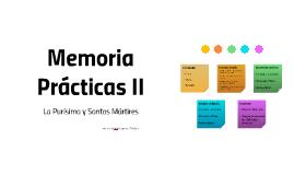Memoria Prácticas II