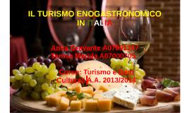 Copy of IL TURISMO ENOGASTRONOMICO