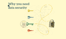 Why you need data security
