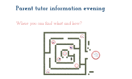 Tutor parent evening