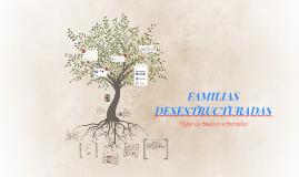 FAMILIAS DESESTRUCTURADAS