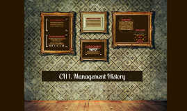 Management History