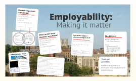 Employability: Making it matter