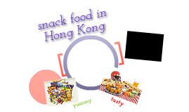 Copy of snack food in hong kong