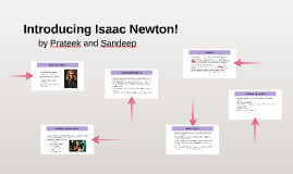 Introducing Isaac Newton!