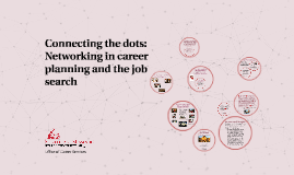 Connecting the dots: Networking in career planning and the j