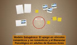 Modelo Salugénico: El apego en vínculos románticos y no romá