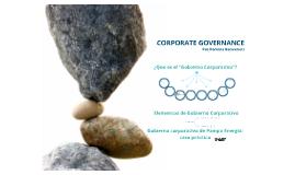 Presentación - Corporate Governance