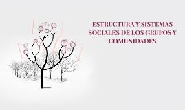Copy of ESTRUCTURA Y SISTEMAS SOCIALES DE LOS GRUPOS SOCIAL