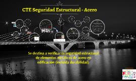 CTE Seguridad Estructural - Acero