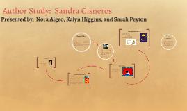 Author Study:  Sandra Cisneros