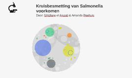 Kruisbesmetting van Salmonella voorkomen