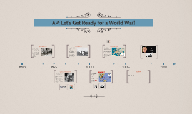 AP: Let's Get Ready for a World War!