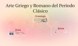 Arte Griego y Romano del Periodo Clásico